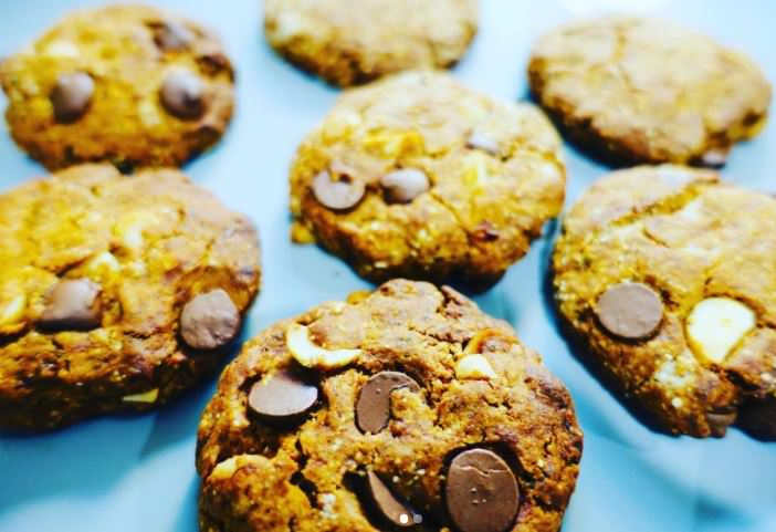 Συνταγή για μπισκότα με μακαντέμια!