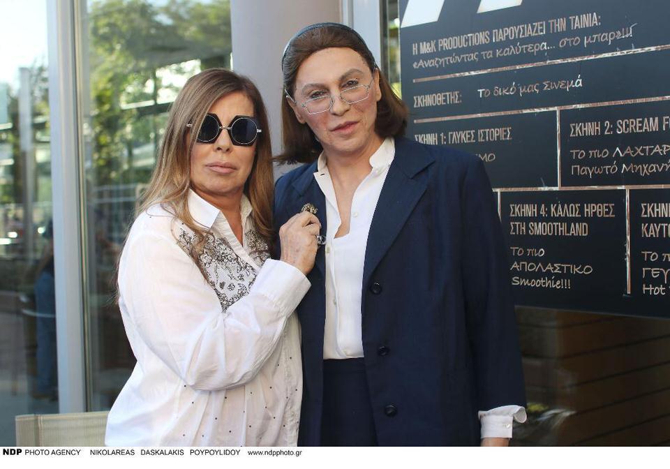 Όταν η Λίνα Μενδώνη συναντά την Άντζελα Δημητρίου στο θέατρο Άλσος...