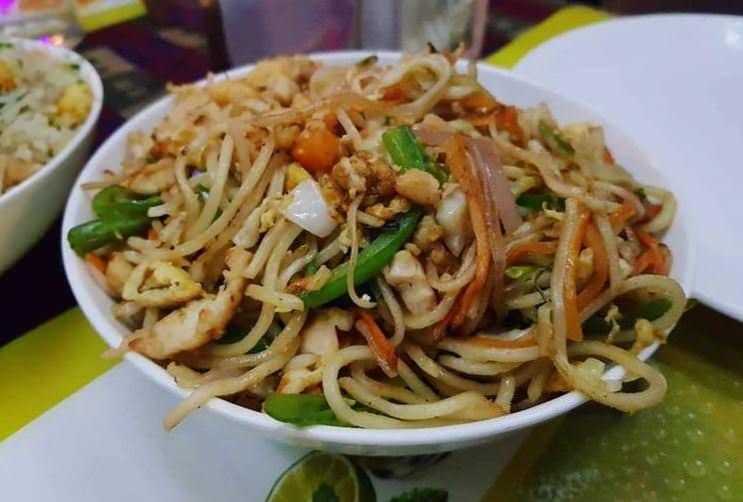 Συνταγή για noodles με κοτόπουλο