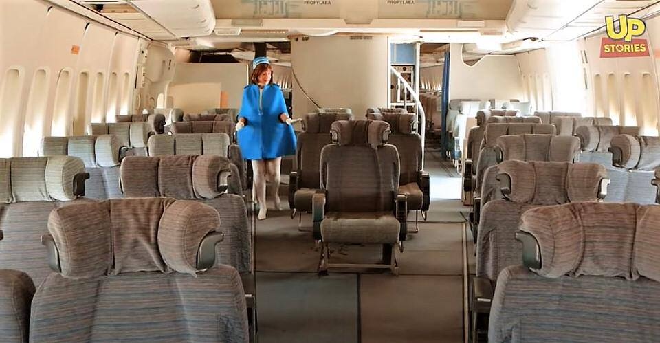 Ολυμπιακή Αεροπορία: Πτήση στον χρόνο με το Boeing 747-200 του Ωνάση και VIP αεροσυνοδό!