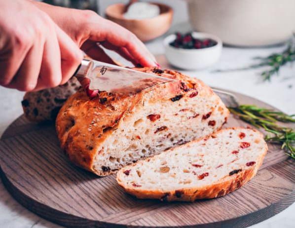 Συνταγή για ψωμί με δεντρολίβανο