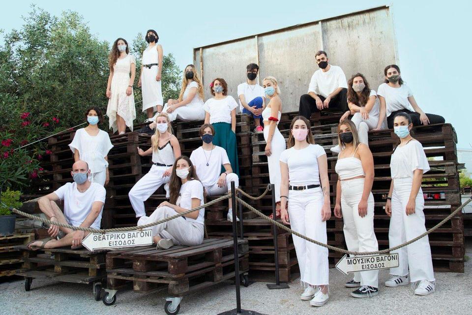 """10ο Φεστιβάλ Νέων Καλλιτεχνών: """"Τα 12 Κουπέ"""" στο χώρο της Αμαξοστοιχίας-Θεάτρου το Τρένο στο Ρουφ"""