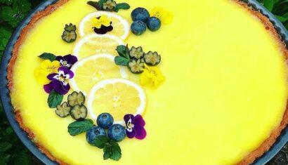 Συνταγή για τάρτα με λεμόνι και ανανά!