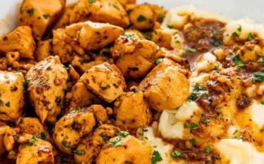 Συνταγή για μπουκίτσες κοτόπουλου με λαχανικά