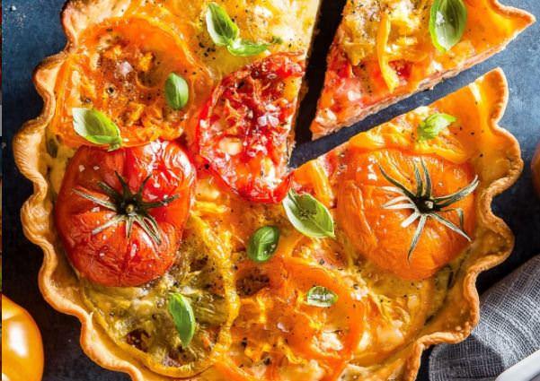 Συνταγή για λαχταριστή ντοματόπιτα