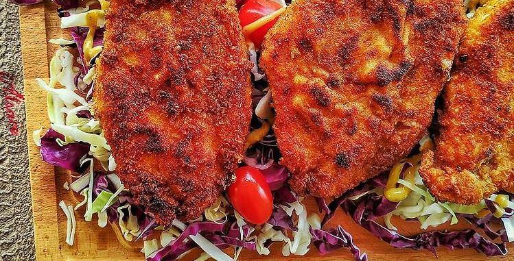 Συνταγή για πεντανόστιμα σνίτσελ στο φούρνο