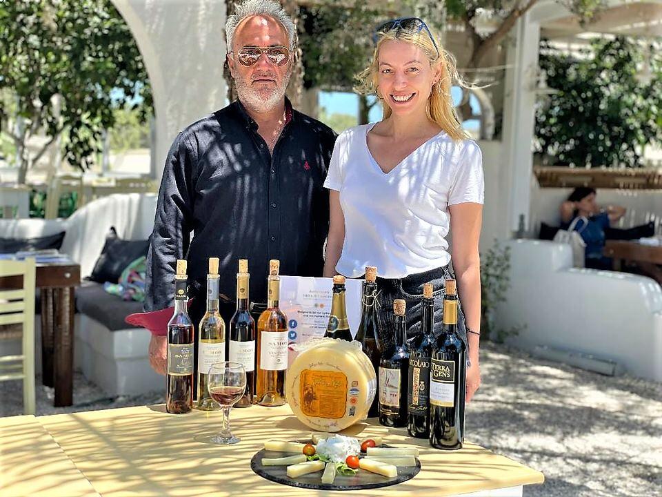 Αποστολή στη Νάξο: Mε επιτυχία ολοκληρώθηκε το 4ο Food Experience Graviera Naxos 2021!