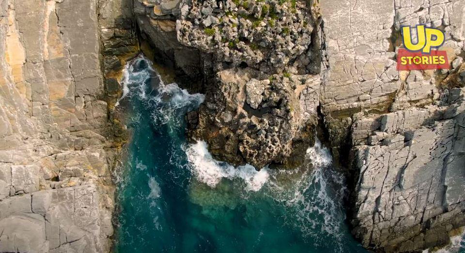 Καταφύγι: Η πιο άγρια παραλία της Ελλάδας από ψηλά!