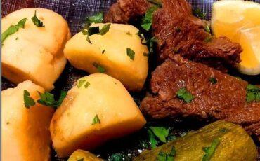 Συνταγή για μοσχαράκι λεμονάτο
