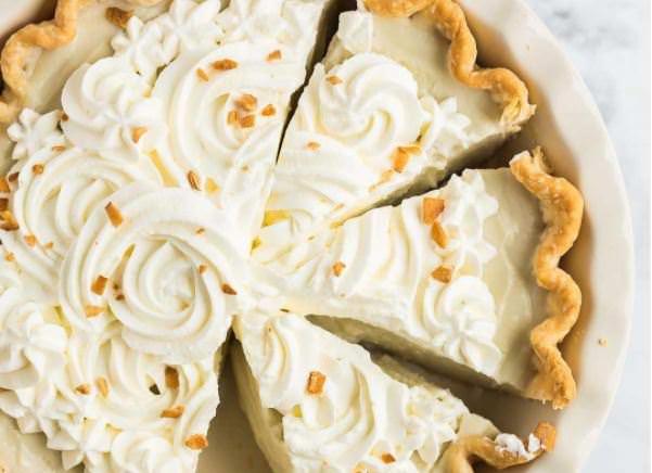 Συνταγή για πίτα με καρύδα
