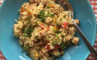 Συνταγή για ριζότο με κοτόπουλο