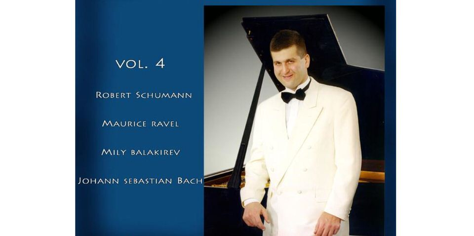 OΔημήτρης Σγούρος παρουσιάζει το Great Performances at Megaron the Athens Concert Hall, Vol. 4