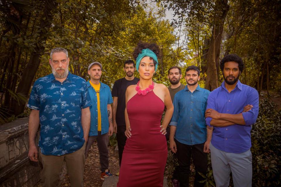 Sugahspank!&BlendMishkin ft.RootsEvolution: CaribbeanSoulστον Κήπο του Μεγάρου