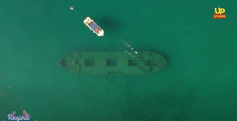 Εξερευνώντας το μοναδικό ναυαγισμένο Τσιμεντένιο πλοίο της Μεσογείου σε έναν επίγειο παράδεισο