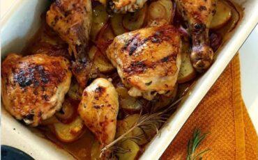 Συνταγή για το πιο εύκολο κοτόπουλο φούρνου