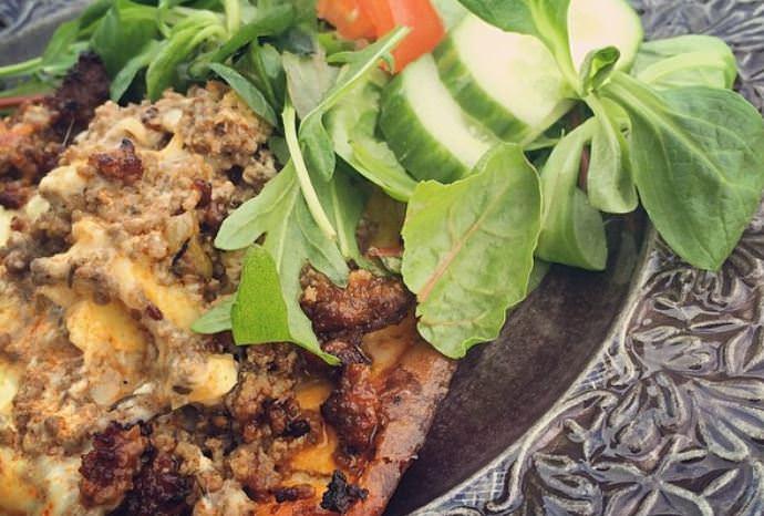 Συνταγή για ομελέτα με κιμά!