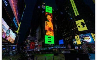 """Έλενα Παπαρίζου: Μπήκε σε Billboard στην Times Square - Νέα διεθνής διάκριση για τη """"number one""""!"""