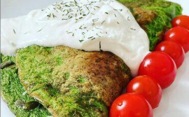 Συνταγή για υγιεινή ομελέτα με ρόκα!