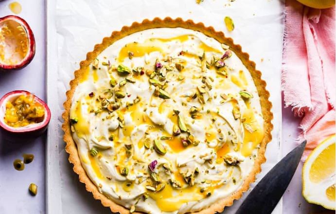 Συνταγή για την πιο ωραία τάρτα λεμονιού που έχεις φάει!
