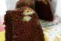 Συνταγή για σοκολατένιο κέικ με μπανάνα