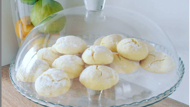 Συνταγή για μπισκότα διαίτης με άρωμα λεμονιού