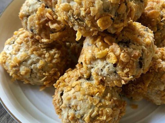 Συνταγή για μπισκότα με κορν φλέικς