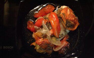 Συνταγή για φιλέτο κοτόπουλο με λαχανικά