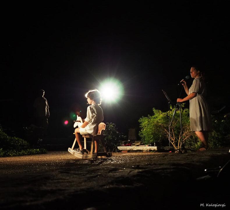 Οι πρώτες φωτογραφίες από την νέα παράσταση του Θοδωρή Γκόνη στο 64ο Φεστιβάλ Φιλίππων