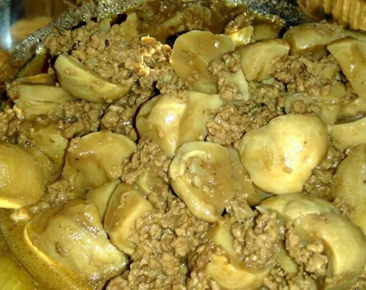 Συνταγή για λαχταριστό κιμά με μανιτάρια