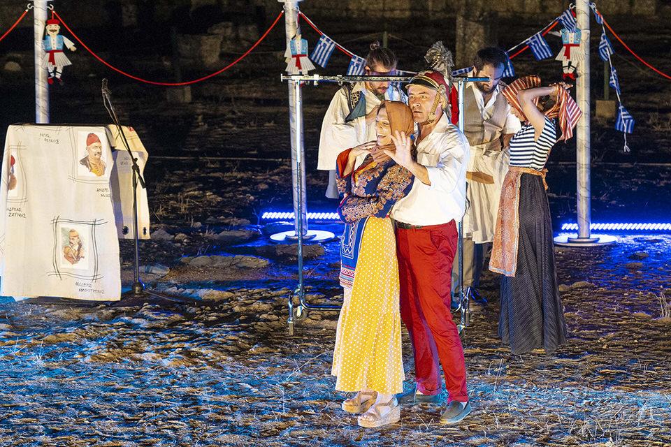 «Μία χώρα δύο αιώνες μετά» του Ανδρέα Φλουράκη σε σκηνοθεσία Ρουμπίνης Μοσχοχωρίτη