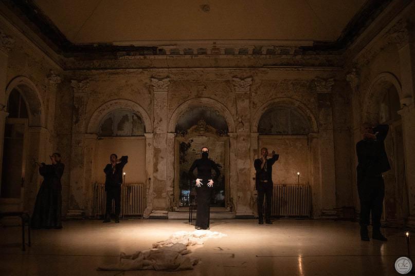 Η Μήδεια σε σκηνοθεσία Δημήτρη Γεωργαλά στο θέατρο Μπάγκειον