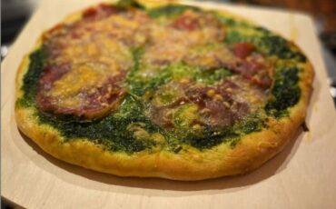 Συνταγή για σπιτική πίτσα με πέστο