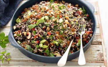 Συνταγή για πεντανόστιμη ρυζοσαλάτα