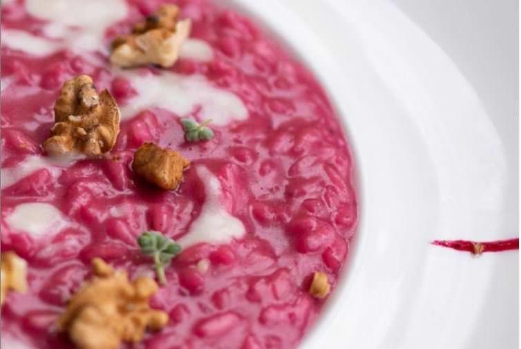 Συνταγή για το πιο νόστιμο...ροζ ρύζι!