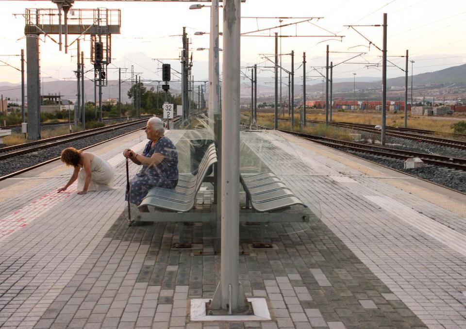 «Σιδηροδρομικές μνήμες»: Το έργο της Αιμιλίας Μπουρίτη ταξιδεύει στην Κοπεγχάγη