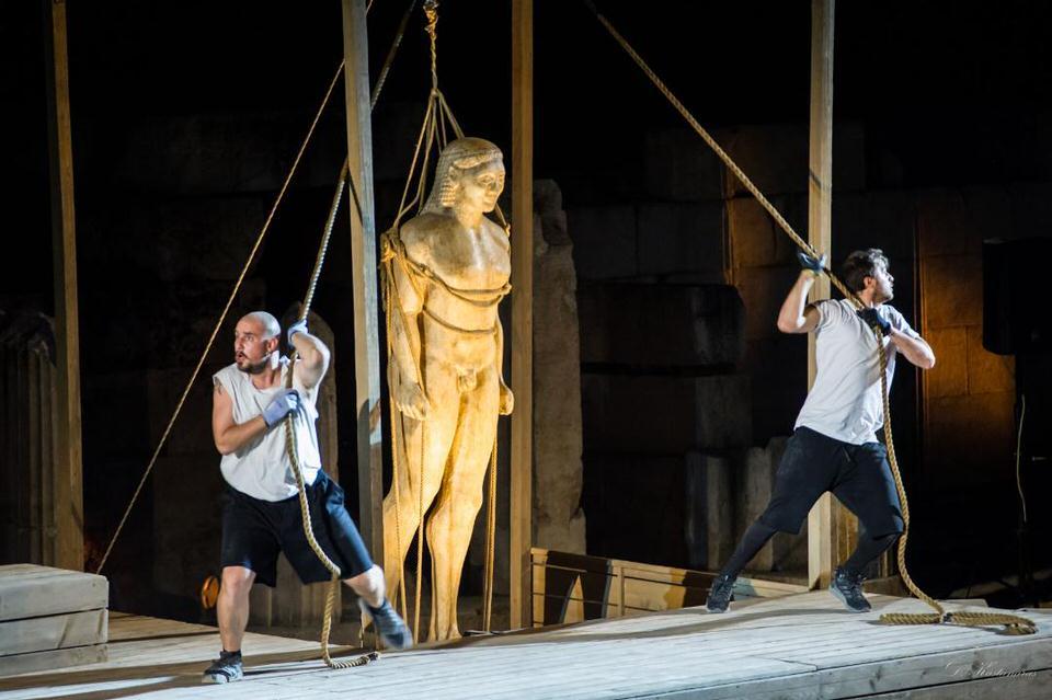 Τα Αγάλματα Περιμένουν: Στο Ηρώδειο στις 4 Σεπτεμβρίου