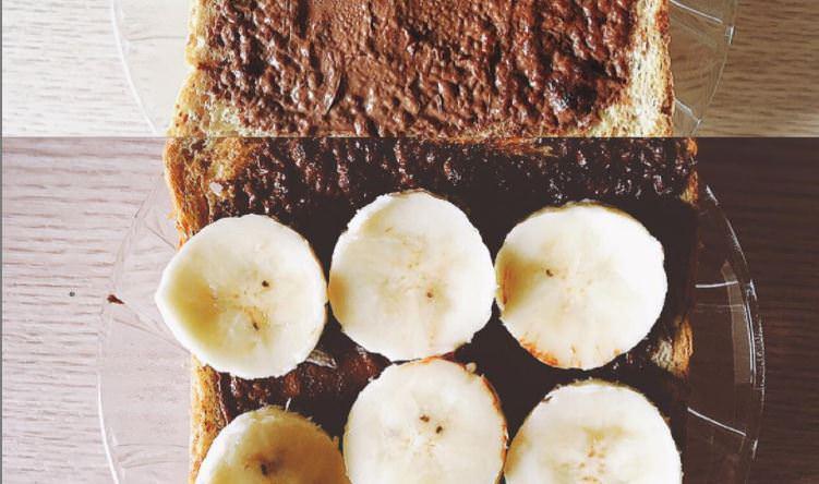 Συνταγή για τοστ με σοκολάτα και μπανάνα!