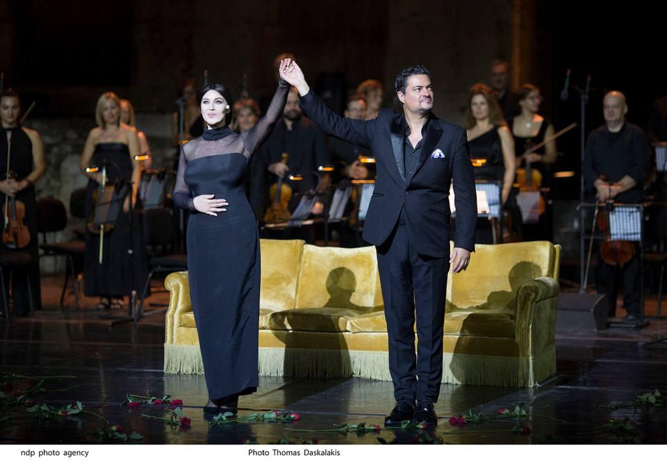 Με μεγάλη επιτυχία στέφθηκαν οι παραστάσεις της Μόνικα Μπελούτσι στο Ηρώδειο