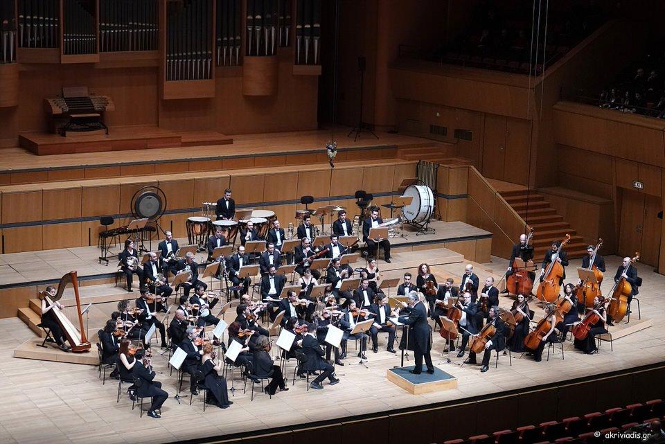 Η Φιλαρμόνια Ορχήστρα Αθηνών και ο Βύρων Φιδετζής στο Μέγαρο Μουσικής Αθηνών
