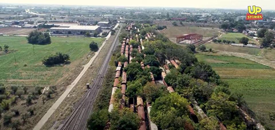 Απίστευτο! Δείτε που βρίσκεται στην Ελλάδα ένα από τα μεγαλύτερα νεκροταφεία τρένων στον κόσμο